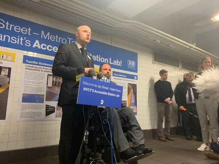 Accessible Upgrade Makes MetroTech A Station Of The Future: MTA