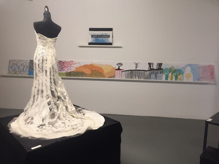 Photos: Brooklyn Exhibit Tells Refugee Story With Power Of Art