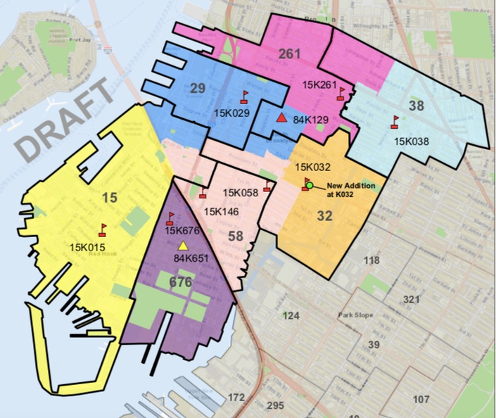 Brooklyn Elementary School Rezoning Delayed A Year, Officials Say