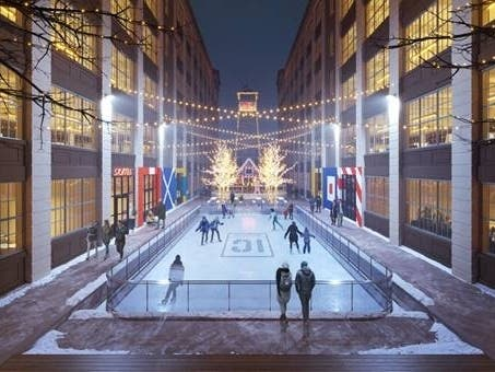 Ice Rink Added To Sunset Parks Industry City