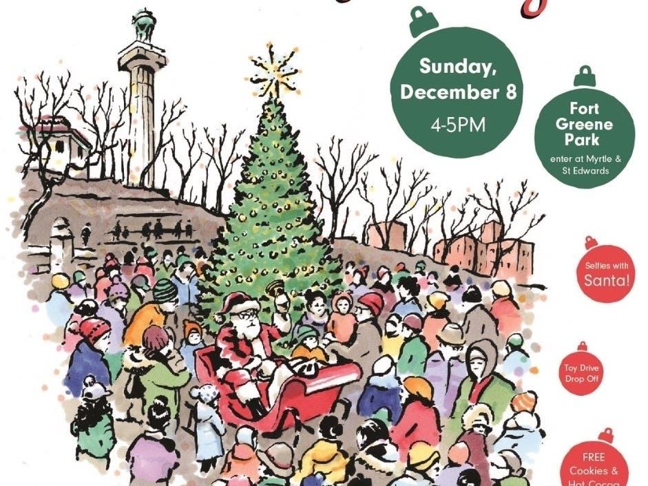 The Greene Christmas Tree Lighting 2020 Fort Greene Gears Up For Tree Lighting, Holiday Event Line Up