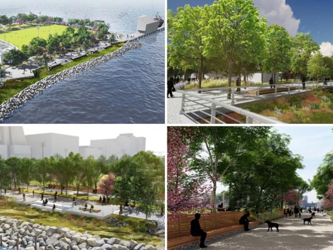 SEE: Designs For Manhattans First Beach Approved By CB