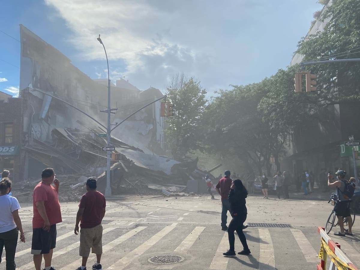 Building Collapses On Court Street In Brooklyn: Officials