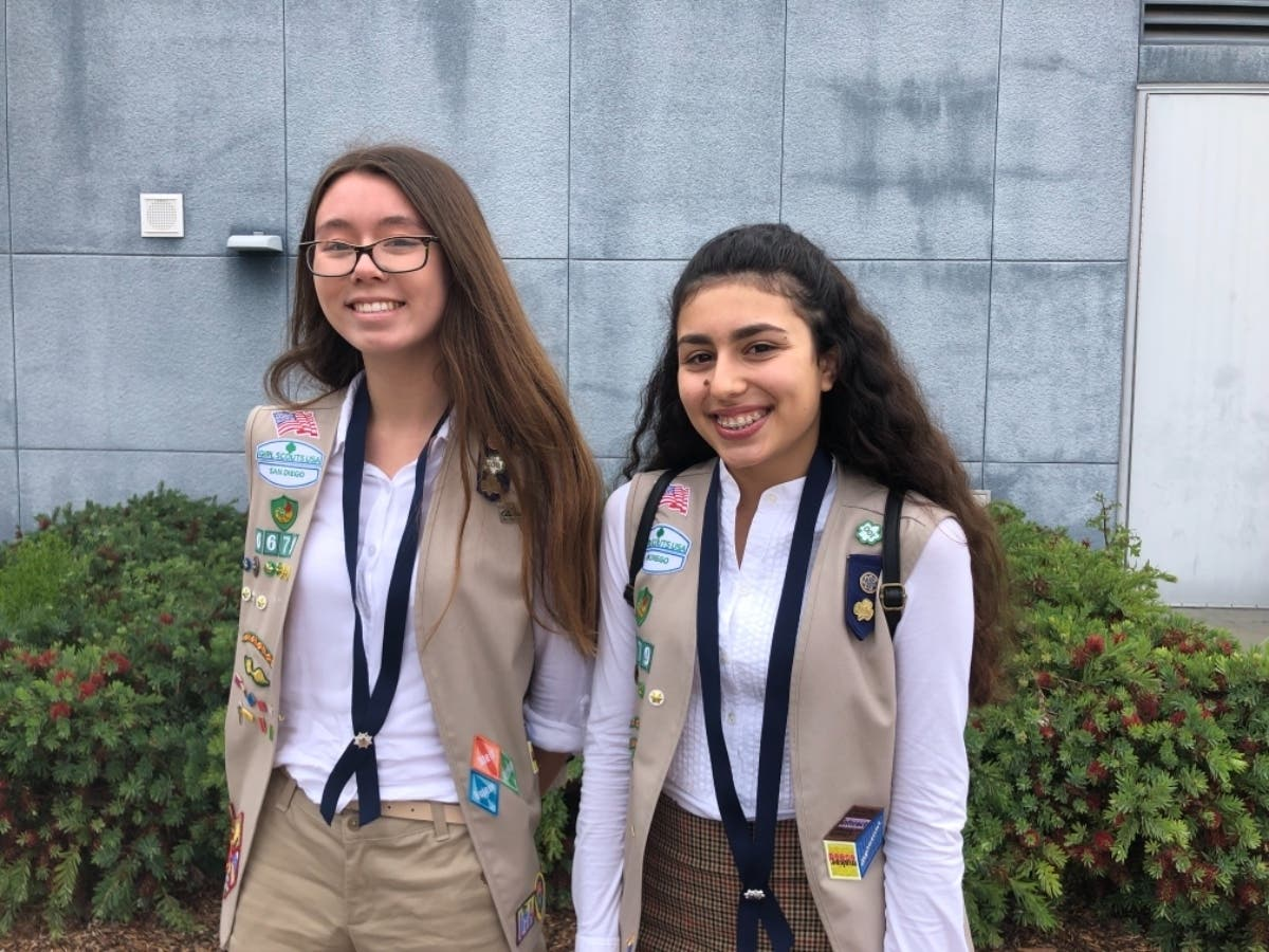 Girl Scout Cadettes Earn Silver Award San Diego Ca Patch
