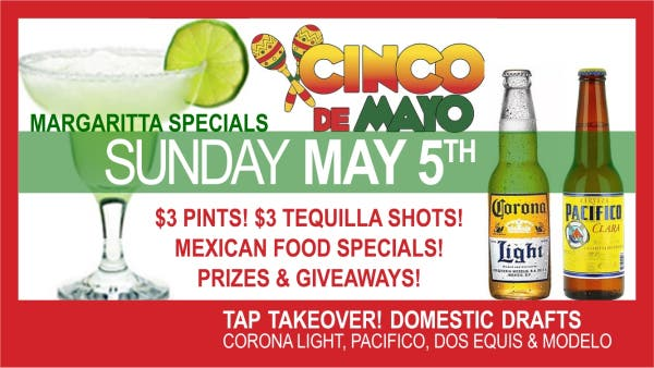 Cinco de Mayo Celebration at Franklin's!