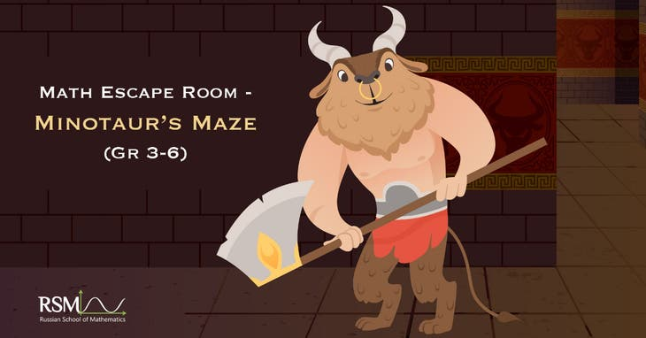 Escaping Minotaurs Maze (3d-6th grades)  webinar