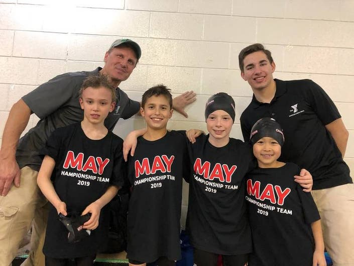 Madison Mariners Compete at the NJ YMCA 8 & Under Championships