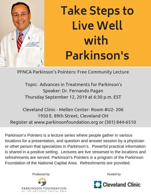 Sep 12 | Advances in Treatments for Parkinson's | Cleveland
