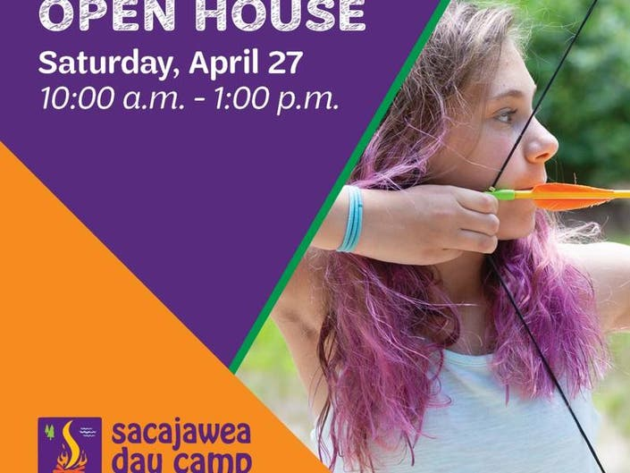 Sacajawea Day Camp will host an open house on Saturday, April 27