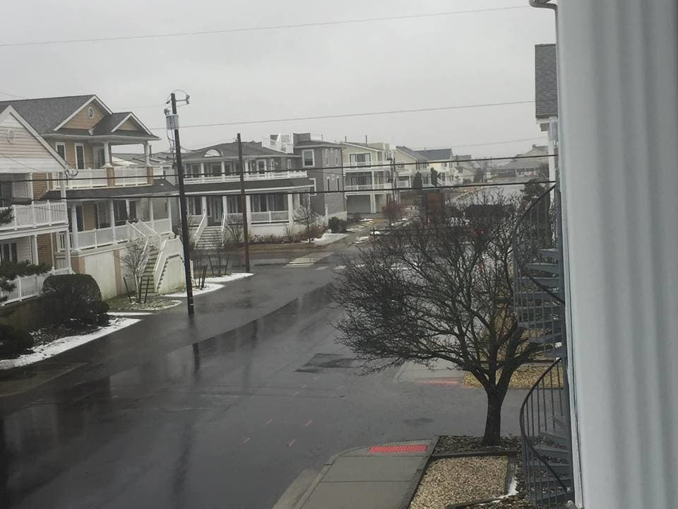 Flooding In Ocean City During Winter Storm | Ocean City, NJ