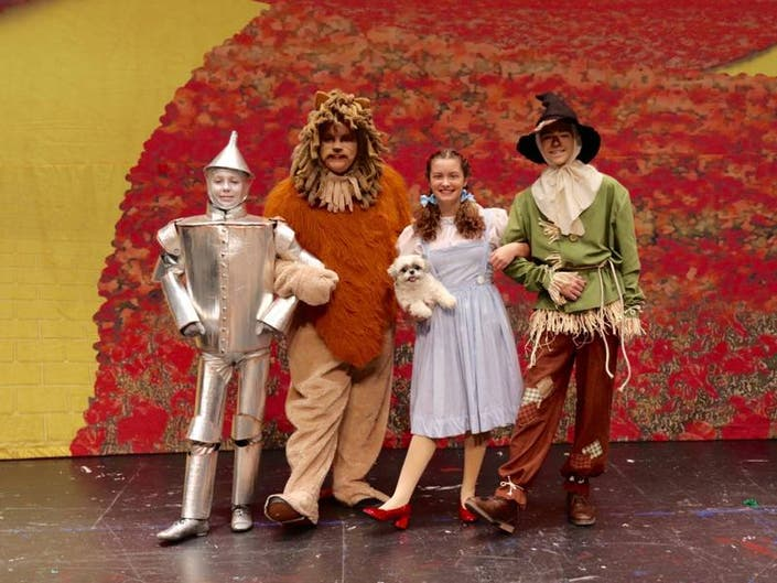 Barnegat: Our Gang Players To Perform Wizard Of Oz