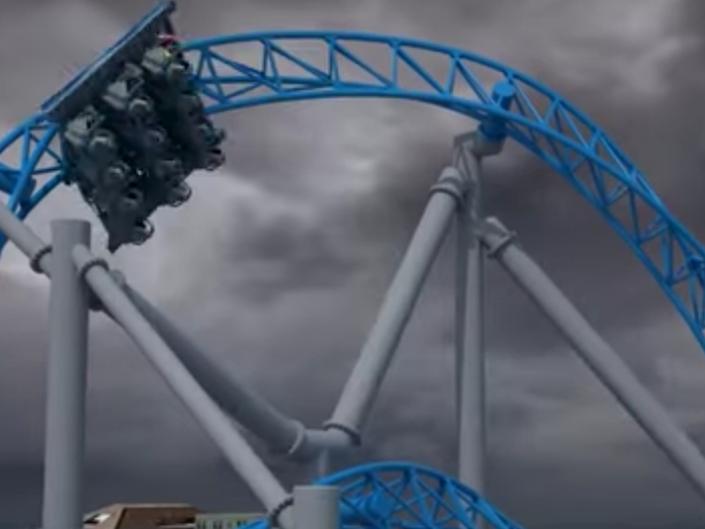 test dummies fly off ocean city roller coaster crash into. Black Bedroom Furniture Sets. Home Design Ideas