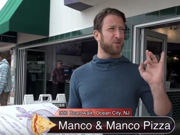Barstool Sports Tries Ocean Citys Manco & Manco Pizza