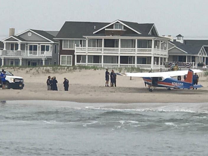 Small Plane Makes Emergency Landing On Ocean City Beach: Police