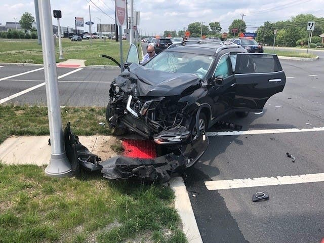 4 People, Including Baby, Injured In Manahawkin Crash