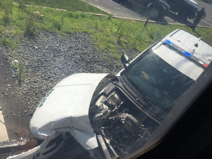 Train Collides With Long Branch Police Car, Causes Delays