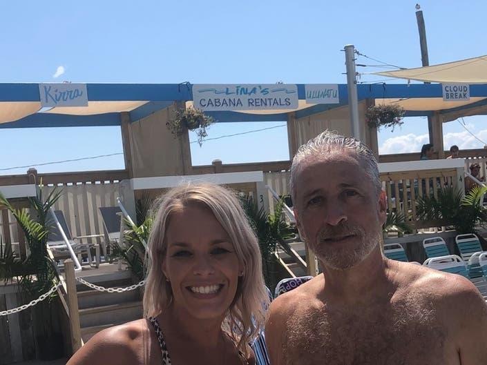Around Barnegat Jon Stewart Visits Fatal Crash Beach