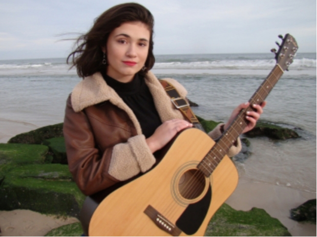 Barnegat High School sophomore Shannon Harrington won a music contract through the 2020 New Jersey Shout Down Drugs Contest.