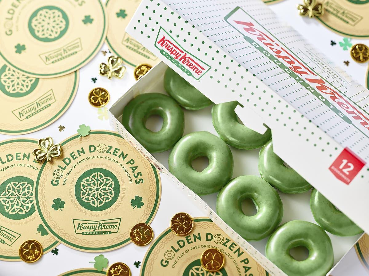 Krispy Kreme Calendar.Green Krispy Kremes Coming To Homewood For St Patrick S Day