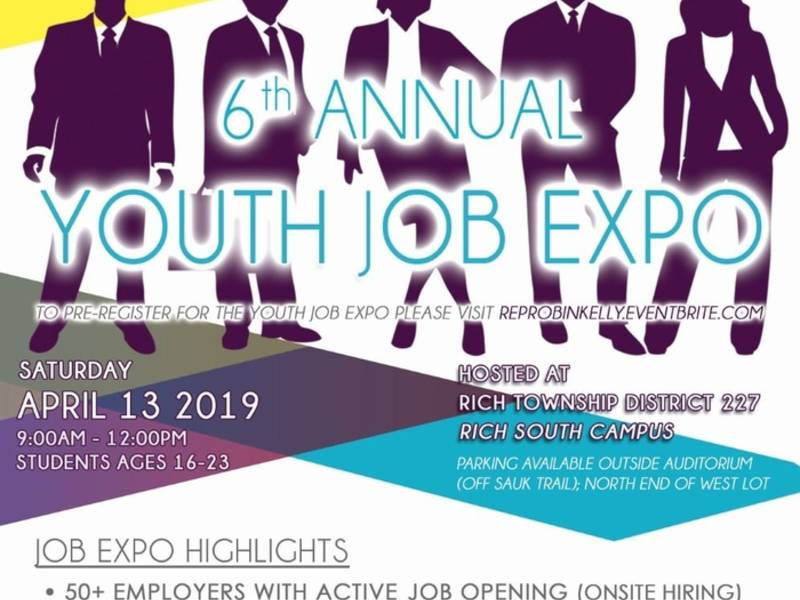 Youth Job Expo Coming To South Suburbs April 13