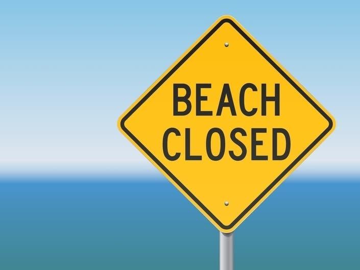 Barrington Town Beach Closed To Swimming