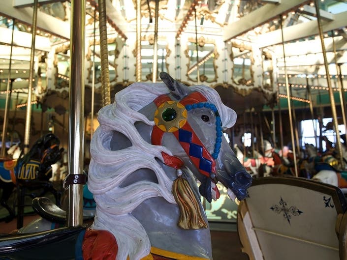 Crescent Park Carousel Temporarily Closed For Mechanical Issues