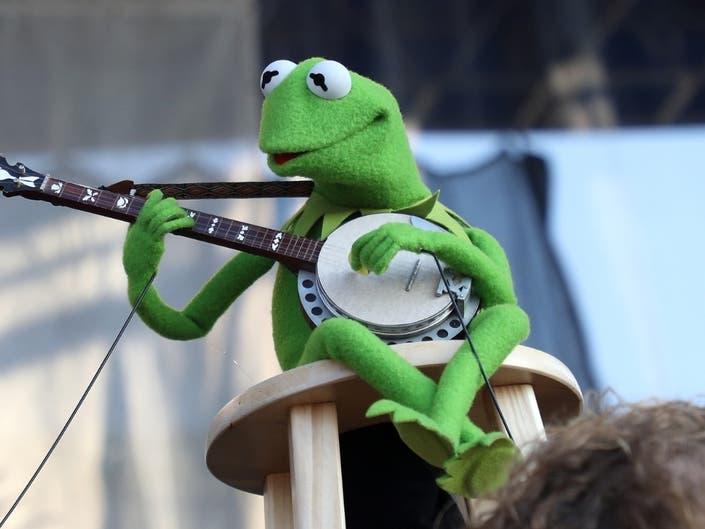 It Was Easy Being Green: Kermit Rocks Newport Folk Festival