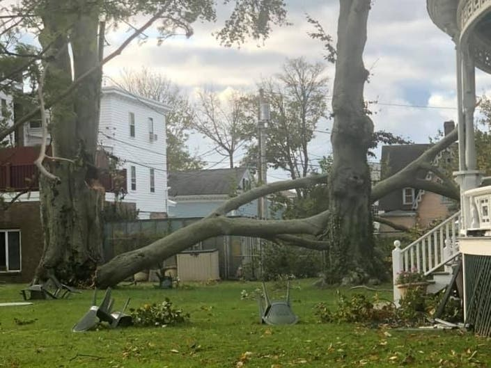 Newport Storm Damage: 1,700 Without Power