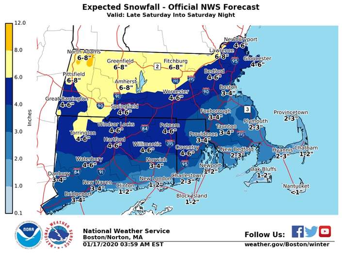 RI Weather: Storm Timing, How Much Snow Will Fall