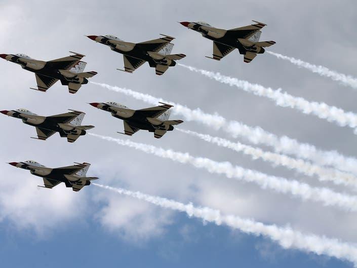Rhode Island Airshow Rescheduled For Thunderbirds Show