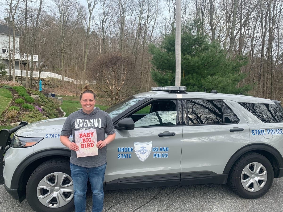 Rhode Island Author Featured On State Trooper Story Time