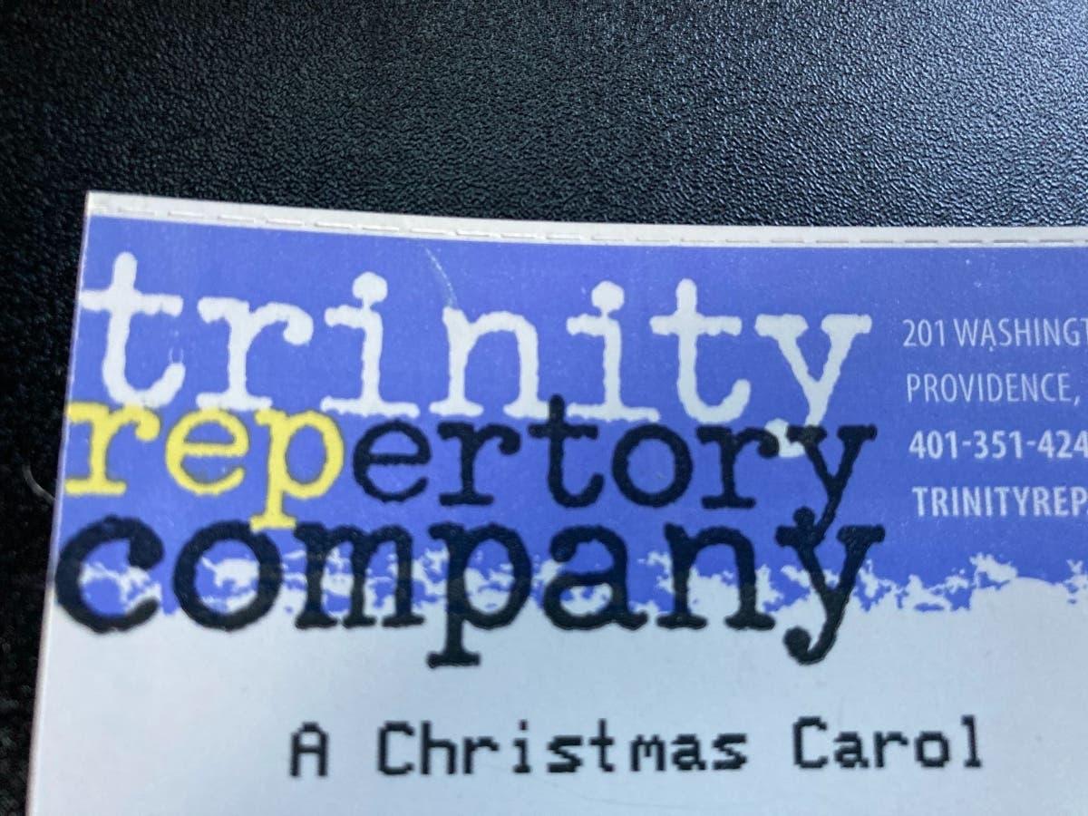 Trinity Rep Christmas Carol, Review, 2020 Trinity Rep's 'Christmas Carol' Goes Virtual | Cranston, RI Patch