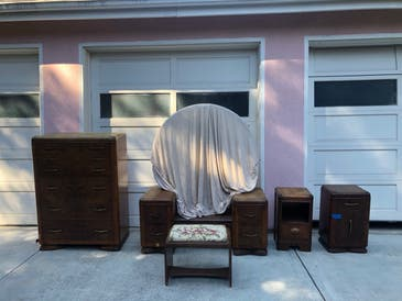 Art Deco 7 Piece Waterfall Style Bedroom Furniture 900 Menlo Park Ca Patch