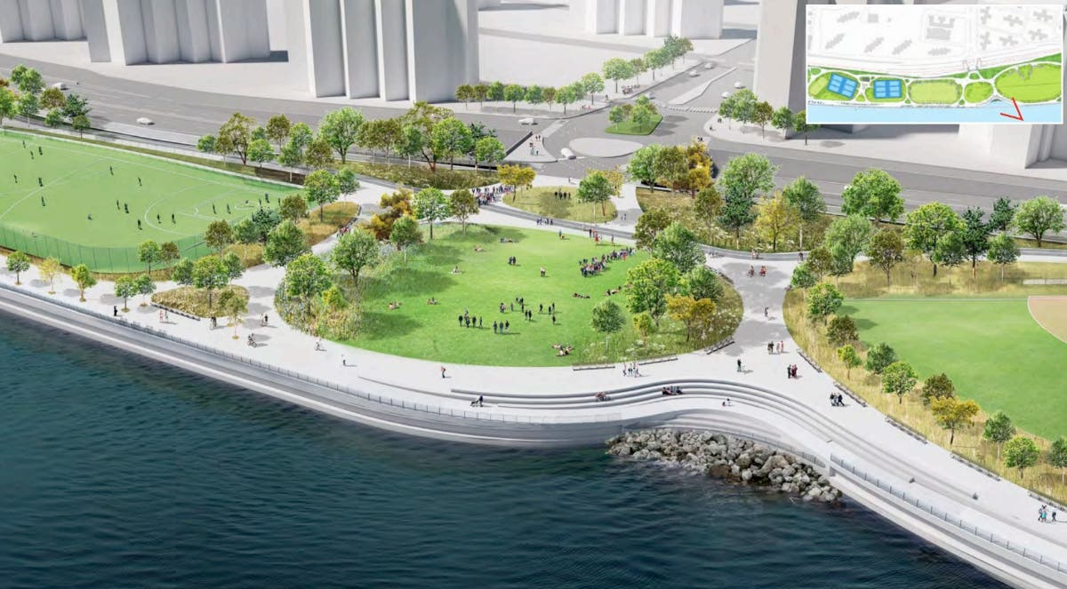 East Side Storm Protection Project's Public Review Moves