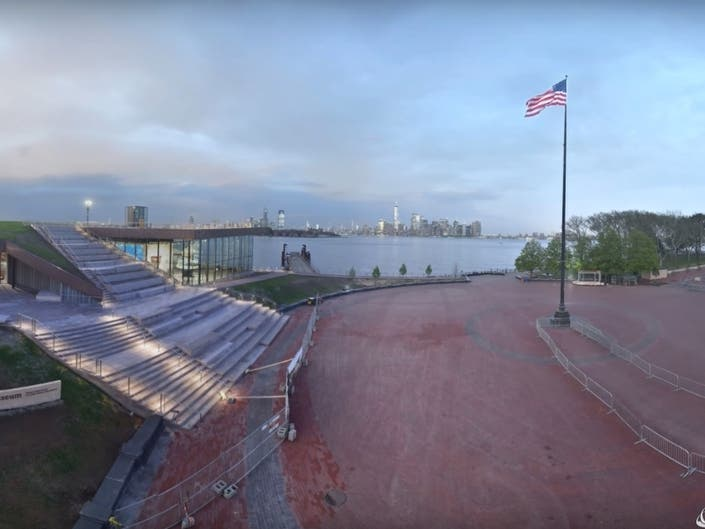 VIDEO: See How The Statue Of Liberty Museum Was Built