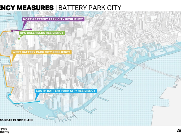 Learn About Battery Park Flood Plan That May Take Down Pavilion