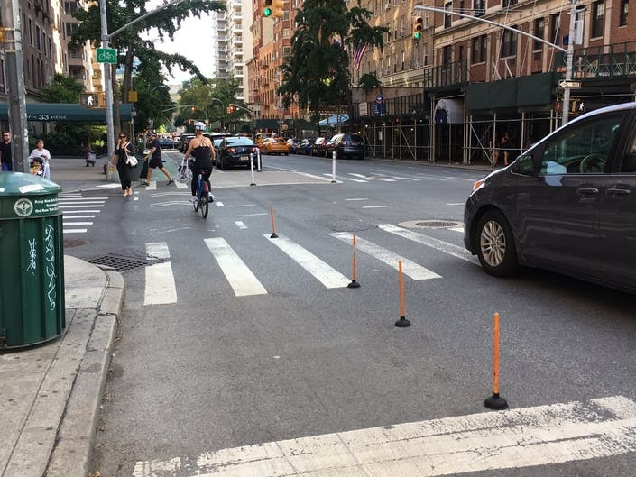 Cyclists Create Guerrilla Bike Lane Barriers With Toilet Plungers
