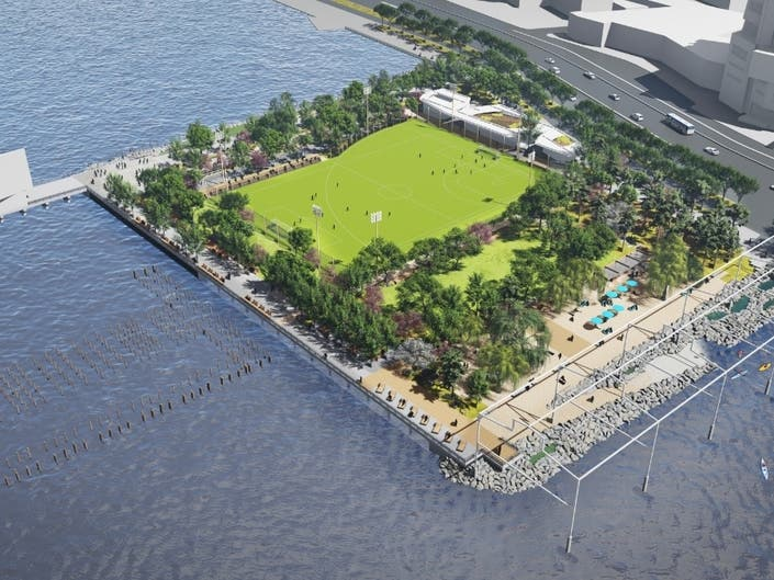 See What Manhattans First Beach May Look Like