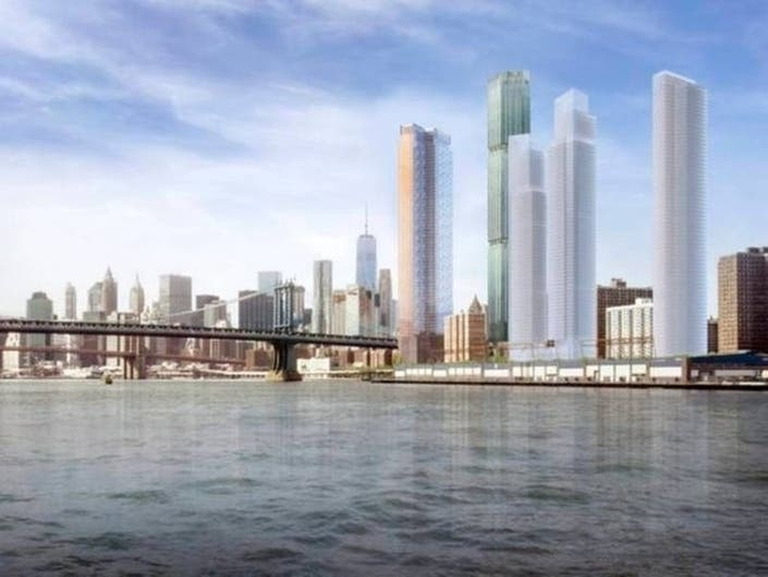 Towers proposed in Two Bridges must go through the city's public review process, a judge ruled.