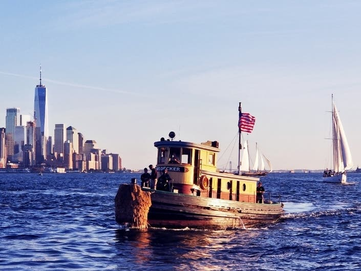Seaport Museum Offers Cruises On 1930s Wooden Tugboat In FiDi