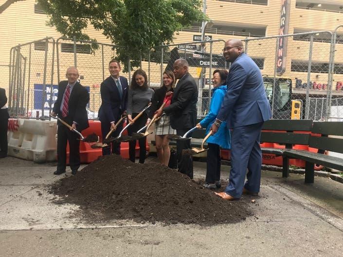 Concrete Plazas Will Be Transformed Into A New Park In FiDi