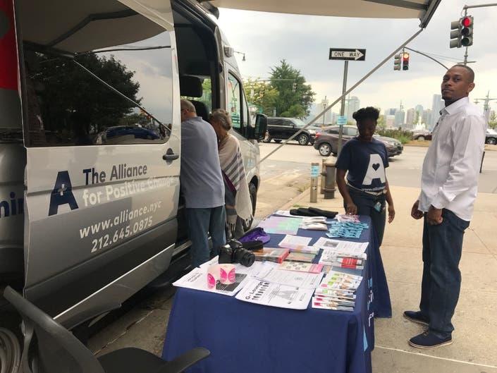 Van Service Brings Free HIV, Hep C Testing To West Village