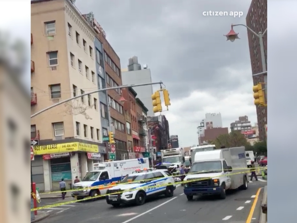 Armored Truck Hits Chinatown Pedestrian, Officials Say | Lower East Side - Patch.com