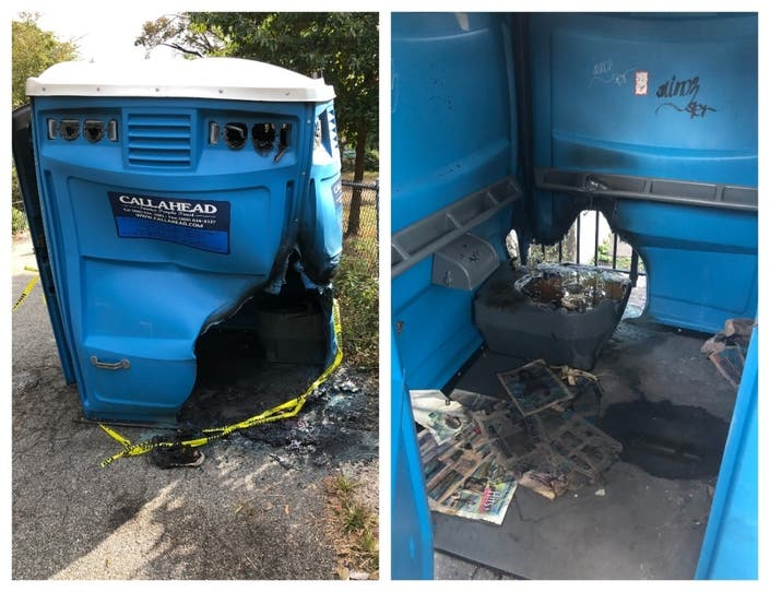 Stop Setting Our Port-A-Potties On Fire, LES Park-Goers Beg
