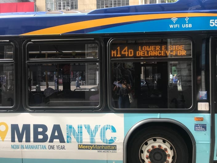 14th Street Bus Ridership And Speeds Spike, MTA Says