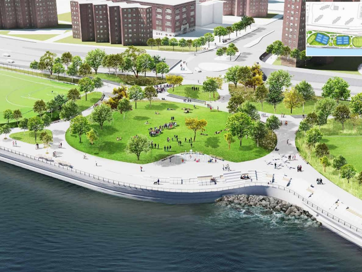 East Side Resiliency Final Design To Be Unveiled At CB 3 Meeting