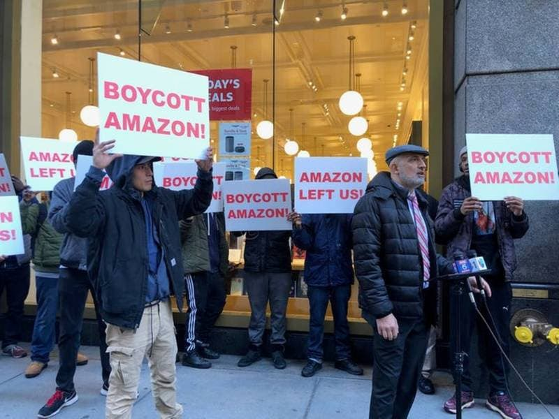 Protesters Paid To Attend Amazon Rally   Queens Week In Review