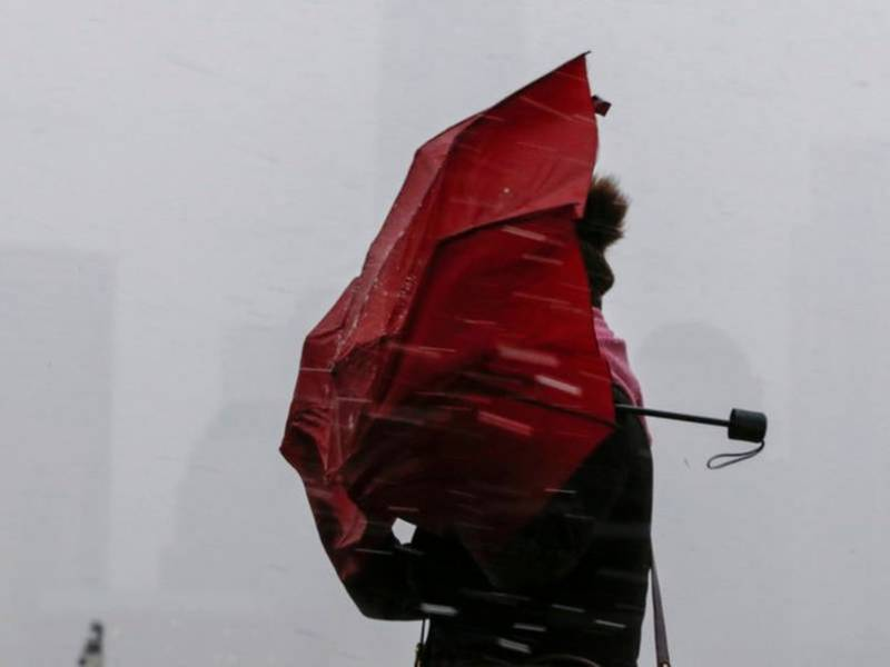 NYC Weather: Windy, Rainy Start To The Weekend