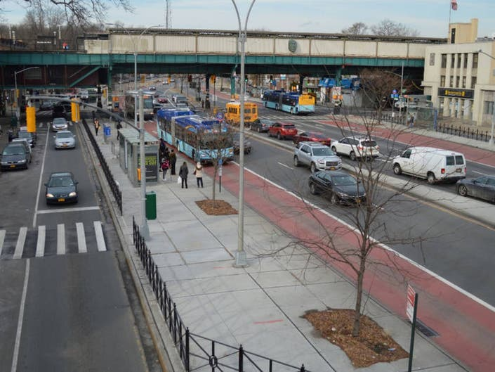 Queens Pol Wants To Replace Parking Removed For Bus Lanes