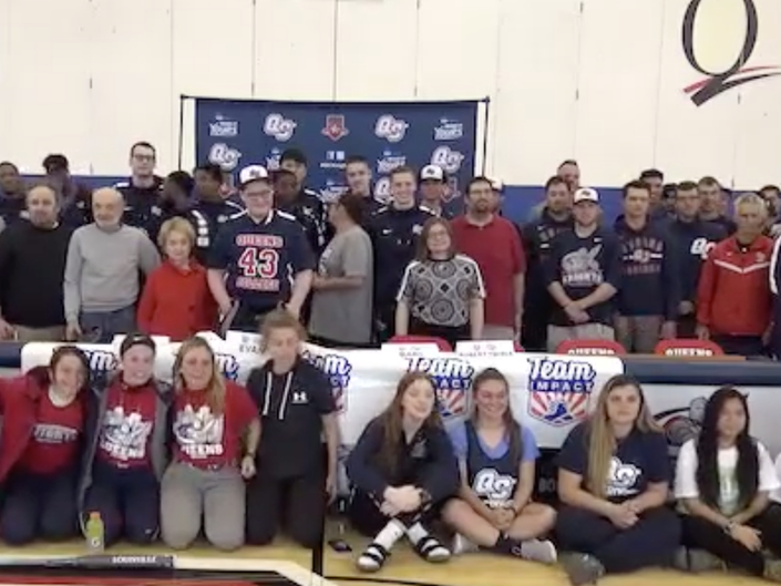 Bayside 14-Year-Old Battling Cancer Joins QC Basketball Team